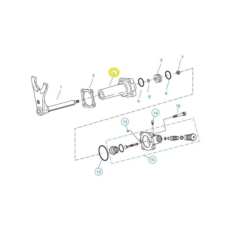 FUL4306632-CILINDRO SIMPLE CAJA