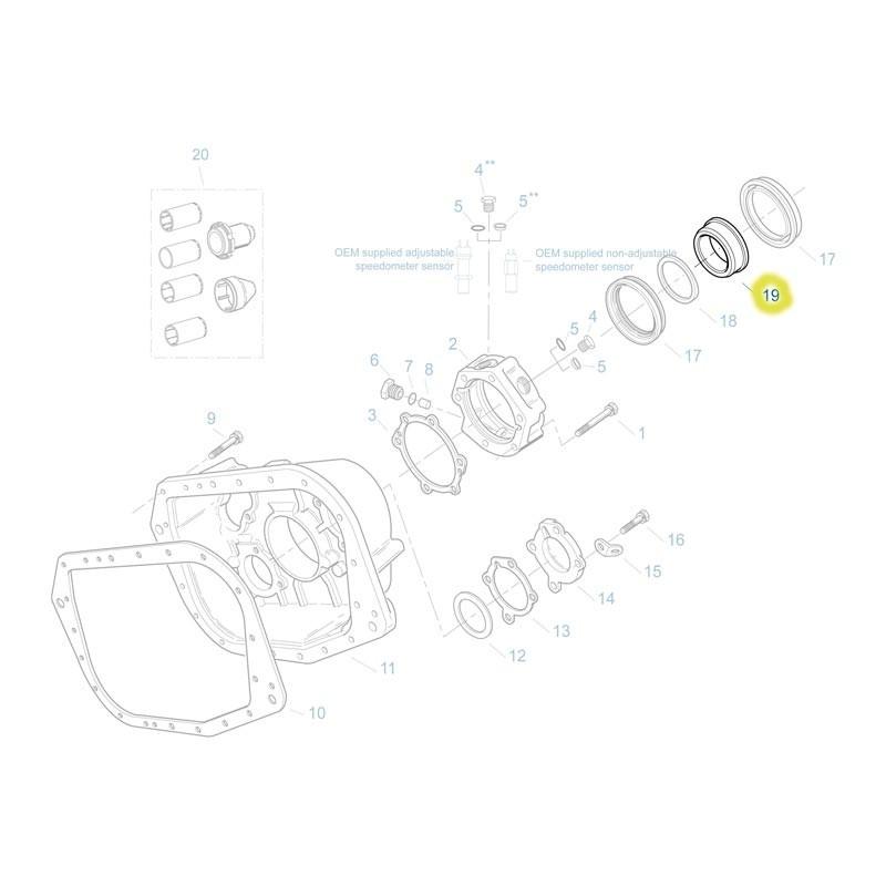 FULA6299-ESPACIADOR RETENEDOR RTXF15715