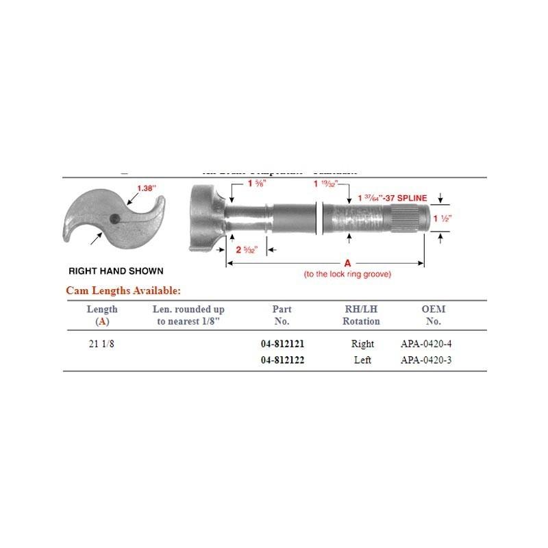 04-812121 - MARTILLO 37D RH