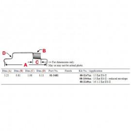 M27011Y-FARO CUCUYA 1/2 LUNA 8 LED