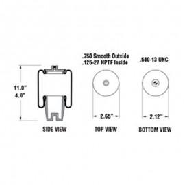 R23532577-OVERHAUL DETROIT S-60 2-PC
