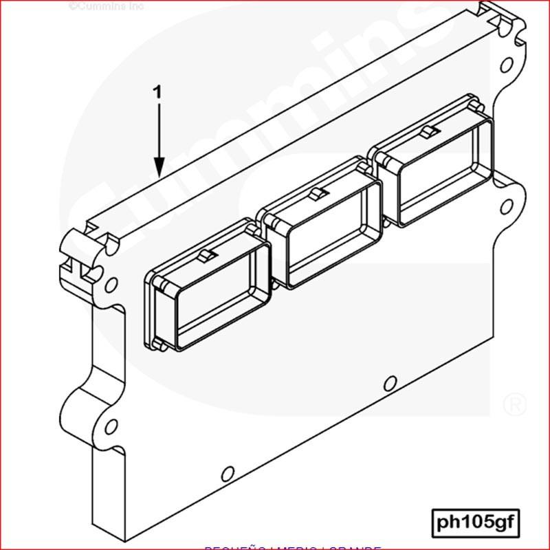 3408501-MODULO CONTROL ELECTRO(ECM)